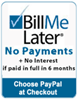 NewTechBio offers BillMeLater